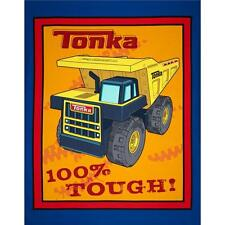 "Tonka Tough Truck 100% cotton fabric by the Panel 36"" x 43"""