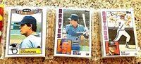 1984 Topps Baseball Card (55) Unopened Rak Pack ROBIN YOUNT, Ted Simmons Showing
