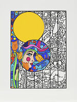 Alex Echo - Sunday (Seven Moons Suite), hand-signed serigraph on white paper
