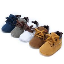bébé nouveau-né garçon fille semelle souple CRIB Chaussures Mignon bottes