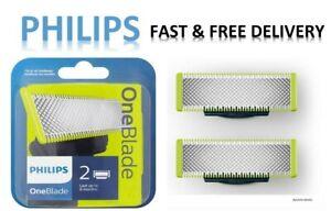 GENUINE PHILIPS One Blade Cartridge x2 Blades   FAST&FREE