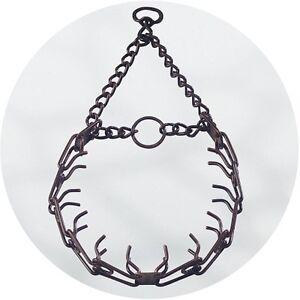 Herm Sprenger Antiqued Brown Ultra Plus Prong Collar Swivel D Ring 3.0mm
