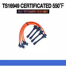 FIT Spark Plug Wires Set Ignition for 1994-1998 Toyota geoCelia Prizm 1.6L 1.8L