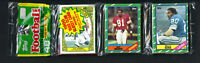 1986 Topps Football Unopened Rack Pack (49) Cards Poss JERRY RICE Rookie - NM-MT