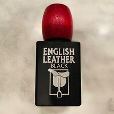 English Leather Vintage Cologne Dana Classic 3.4oz Full Mens Cologne Black Jar