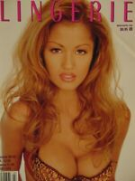Playboy's Book of Lingerie March April 1996 | Alley Bagett     #1348
