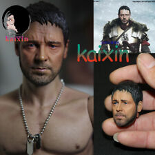 1:6 Soldiers Accessories Russell Crowe Gladiator Head Carving Support HT Body