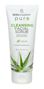 Cleansing  - Facial Scrub - Pure - Suitable for Sensitive Skin - 75ml - NEW