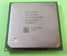 Intel Pentium 4 2 60GHz / 512kb / 800mhz zócalo/Zócalo 478 SL6WS