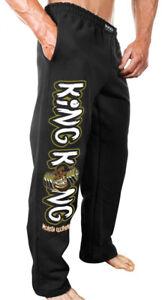 NEW Men's Monsta Clothing King Kong Ain't Got Nothing On Me Sweatpants: Black