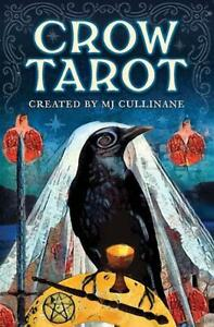 Crow Tarot Card Deck, Boxed Set with Book, by MJ Cullinane!