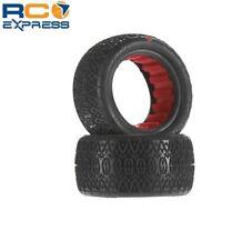 AKA Racing 1/10 Buggy Chain Link 2.2 Rear Tires (Super Soft) w/ Red I-AKA13126VR