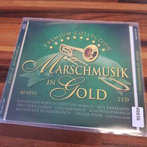 VARIOUS: Marschmusik In Gold  Premium Collection  > EX (2CD)