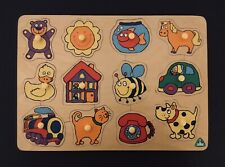 Early Learning Centre Wooden Peg Puzzle (Barely Used)