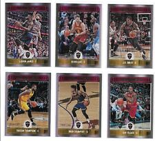 2017-18 Panini NBA Hoops Premium Cleveland Cavaliers 11-Card Team Set /199