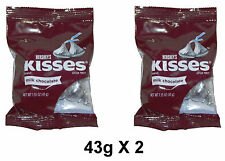 Hershey's Kisses Milk Chocolates Classic Regular 43g X 2 Pcs Imported Chocolate