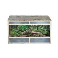 PAWHUT Repti Home Reptiles Vivarium House Snake Lizard Habitat Leopard Gecko OSB