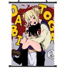 Anime My Boku no Hero Academia Dabi Toga Himiko wall Poster Scroll Cosplay 3181