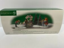 "Department 56 Christmas In The City "" A Treasured Book "" New"