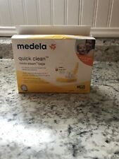 C4 Medela Breast Feed Quick Clean Micro-steam Bags 5 Count 100 Uses