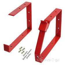 UNIVERSAL Lockable Wall Ladder Rack Bracket Secure Ladders Locking Brackets