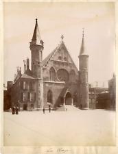 Hollande, Pays-Bas, La Haye, Binnenhof Vintage albumin print,  Tirage albuminé