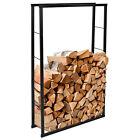 ib style® Kamin -und Brennholzregal Indoor Feuerholzhalterung 4 versch. Größen