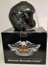 Harley Davidson 3/4 Helmet Full Visor Women XS Grey  B1