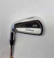 Left Handed Titleist 710 CB Forged 6 Iron Rifle 5.5 Steel Shaft