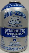 (12 pack) Sub-Zero synthetic refrigerant r-134a 12 oz