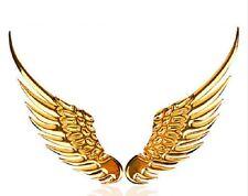 "Choose 3D ANGEL WINGS Metal Emblem 5-5/8"" x 1-5/8 Car Truck Motorcycle Accessory"