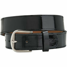 Champro Adult Patent Leather Baseball Belt Black L
