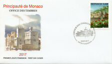 Monaco 2017 FDC Castles Prince's Palace Europa 1v Set Cover Architecture Stamps