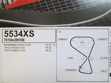 Mitsubishi Galant Space Runner Wagon 2.4 GDI 16 V cambelt Timing Belt 5534XS