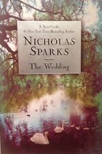 🎉 The Wedding Nicholas Sparks Hardback Note BOOK Love TRUE 1st FIRST VF NEW 🍾