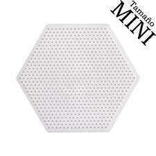 Placa / pegboard Hama Beads MINI Hexagonal