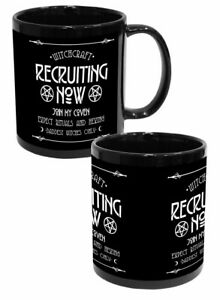 Darkside WITCHCRAFT RECRUIT Large 11oz Mug witch pentagram magic cup coffee Gift