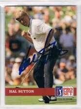 1992 Pro Set #9 Hal Sutton  Auto