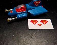 Corgi  Juniors  Supermans Supermobile,   Set of stickers, No car,