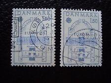 DANEMARK - timbre yvert et tellier n° 664 x2 obl (A33) stamp denmark (R)