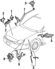 Genuine Ford Oxygen Sensor F5MZ-9F472-B