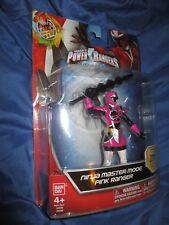 "SABAN'S POWER RANGERS Ninja Master Mode Pink Ranger 6"" Figure by Bandai STEEL"