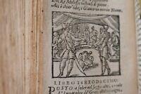 Anguillara: METAMORFOSI OVIDIO 1624 Seicentina Figurata INCISIONI Mini Libro