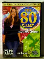 The 80's Game with Martha Quinn  PC CD-ROM New/Factory Wrapped FREE SHIPPING !!!