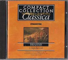 CD - DE AGOSTINI - COMPACT COLLECTION CLASSICA i capolavori - J. BRAHMS