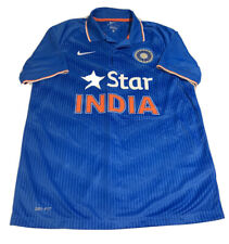 Nike Dri-Fit India Star Blue Cricket Jersey Large NEW