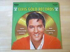 Elvis Presley LP: Elvis' Gold Records Volume 4, RCA # LSP-3921, Orange, flexible