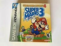 Super Mario Bros 4   Nintendo Game Boy Advance GBA NEW Factory Sealed