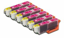 6 Magenta Compatible Ink Cartridges For Epson No 33, 33XL NON-OEM