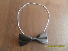 Boys Black Dickie Bow Tie Bow Tie Bow Elasticated Formal Party Wear New